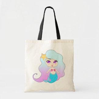 Pretty Mermaid (Gummie) Budget Tote Bag