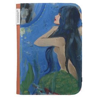 pretty mermaid kindle 3G covers