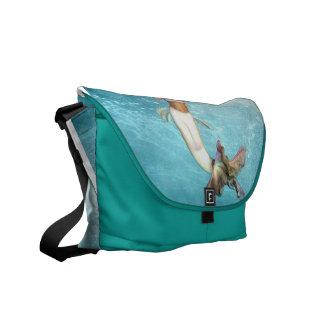 Pretty Mermaid Messenger Bag