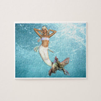Pretty Mermaid  Puzzle
