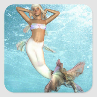 Pretty Mermaid  Sticker