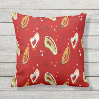 Modern Red Pillow : Mid Century Modern Pillows - Decorative & Throw Pillows Zazzle