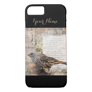Pretty Mixed Media Art Style Iphone Case