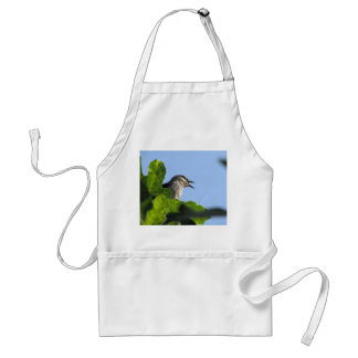 Pretty Mockingbird Adult Apron