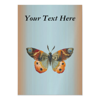 Pretty Monarch Butterfly Autumn Colors Magnetic Card