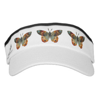 Pretty Monarch Butterfly Autumn Colors Headsweats Visor