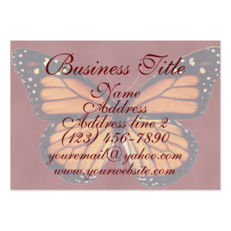Pretty Monarch Butterfly Business Cards