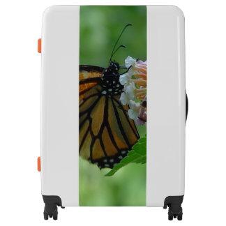Pretty Monarch Butterfly Luggage