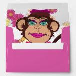 Pretty Monkey Surprise Envelopes Envelope
