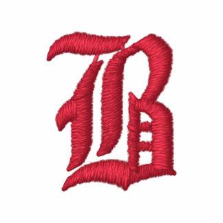 Pretty Monogram B Embroidered T-shirt - Customized