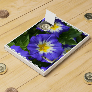 Pretty Morning Glories Countdown Calendars