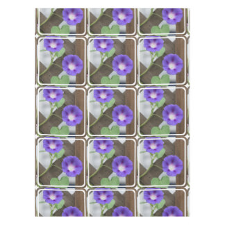 Pretty Morning Glories Tablecloth