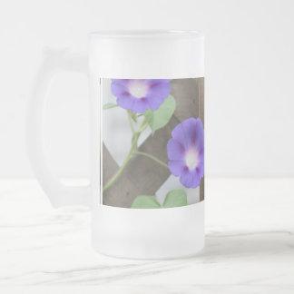 Pretty Morning Glories Coffee Mugs