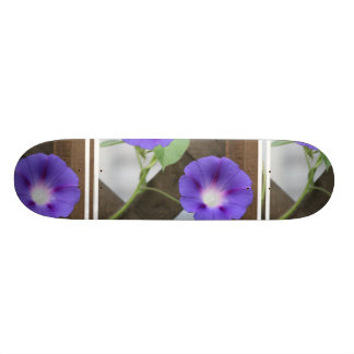 Pretty Morning Glories Skateboard