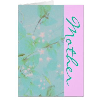 Pretty Mother Greeting Card