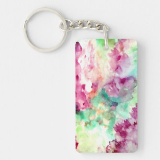 Pretty Mother's Day Mom Floral Flowers Keychains