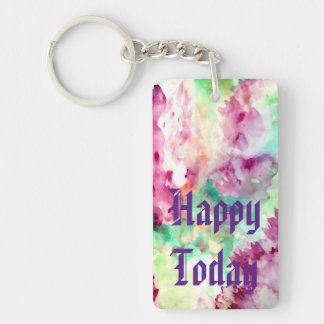 Pretty Mother's Day Mom Floral Flowers Keychains 3