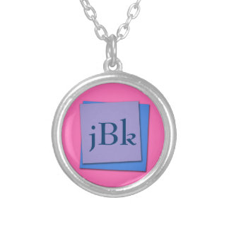Pretty Multi Color Monogram Necklace