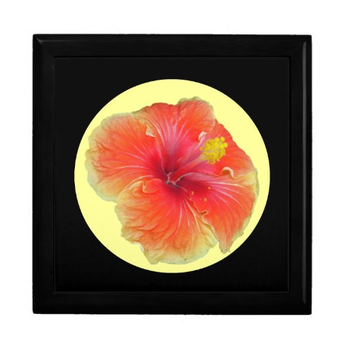 Pretty Multi-Colored Hibiscus giftbox