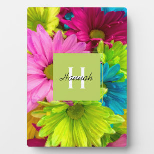 Pretty Flower Paintings Photo Plaques Zazzle
