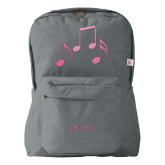 Pretty Music Notes Backpack