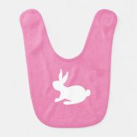Pretty 'n Pink Bunny Bib