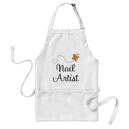 Pretty Nail Artist Gift Adult Apron
