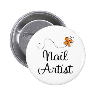 Pretty Nail Artist Gift Pin
