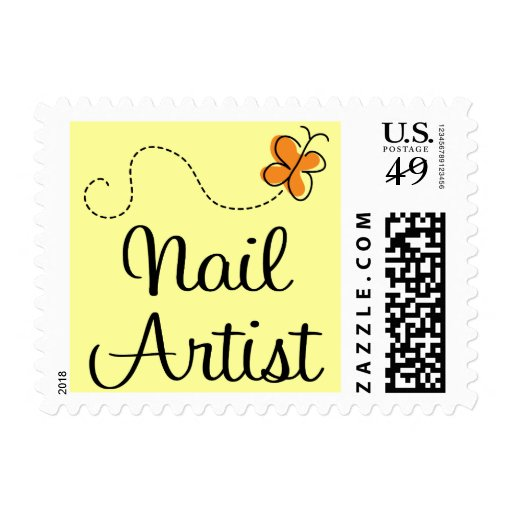 Pretty Nail Artist Gift Stamps