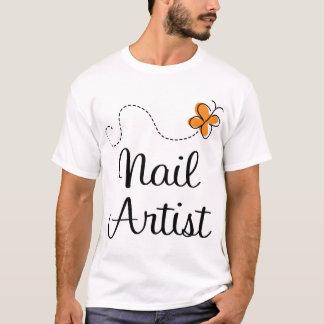 Pretty Nail Artist Gift T-Shirt
