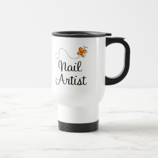 Pretty Nail Artist Gift Travel Mug