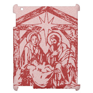 pretty nativity red outline_edited-1 case for the iPad