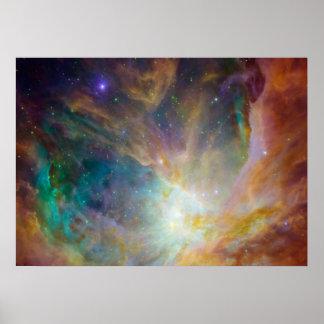 Pretty Nebula Space Poster