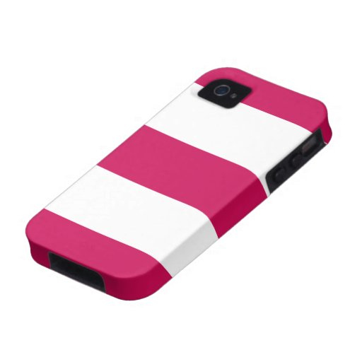 Pretty New Pink & White iPhone Case Gift Vibe iPhone 4 Cases