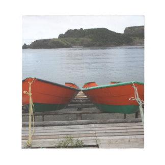Pretty Newfoundland Boats Notepad