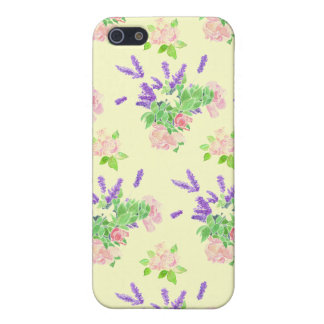 Pretty Nostalgic Scents of Summer Floral iPhone SE/5/5s Case