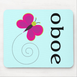 Pretty Oboe Gift Mouse Pad