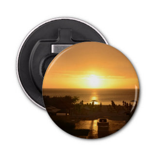 Pretty Ocean Sunset Bottle Opener