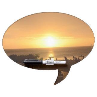 Pretty Ocean Sunset Dry-Erase Whiteboard