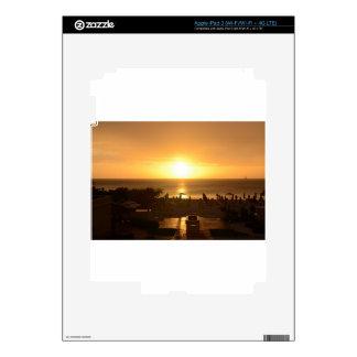 Pretty Ocean Sunset Skins For iPad 3