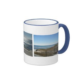 Pretty Ocean Views Ringer Coffee Mug