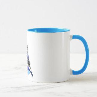 Pretty opaline periquito mug