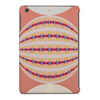 Pretty Orange Globe Abstract iPad Mini Retina Cover