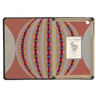 Pretty Orange Globe Abstract iPad Mini Covers