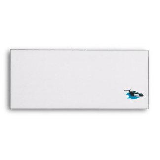 pretty orca killer whale envelope