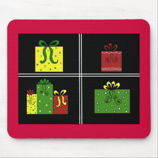 Pretty Packages All Wrapped Up Mouse Pad