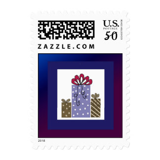 Pretty Packages and Bows Postage