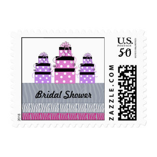 Pretty Packages Bridal Shower Postage