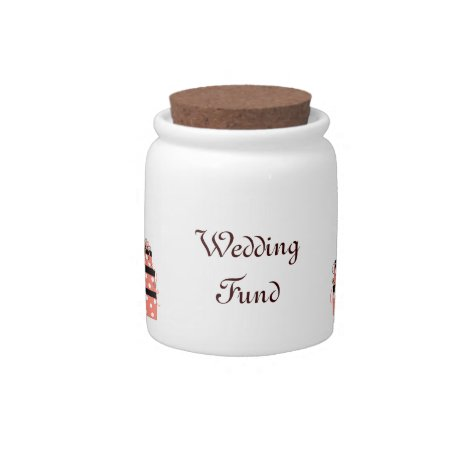 Pretty Packages Wedding Fund Candy Jar