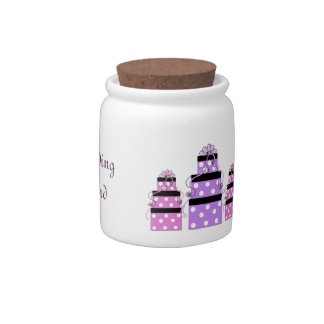 Pretty Packages Wedding Fund Candy Jars
